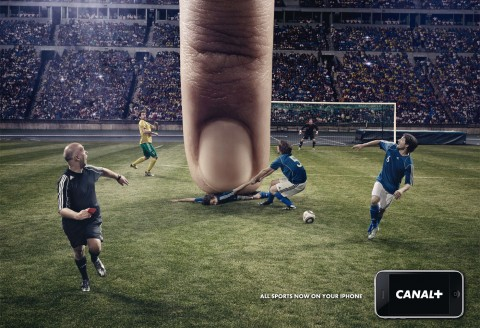 All sports on your iPhone - Reklamytė